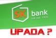 Bankructwo SK Bank