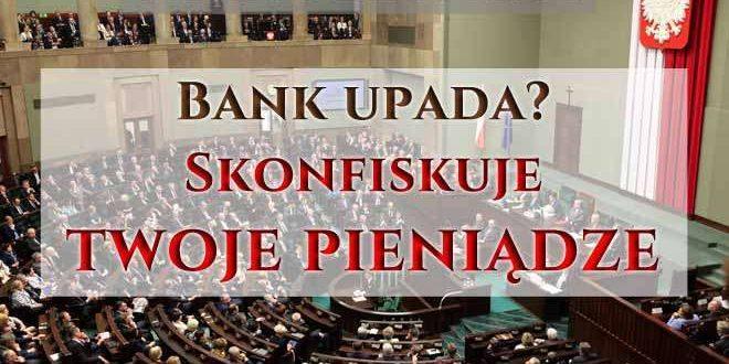 bank bankrutuje konfiskuje pieniądze klientów