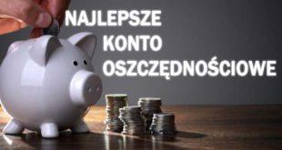 najlepsze konto oszczędnościowe ranking