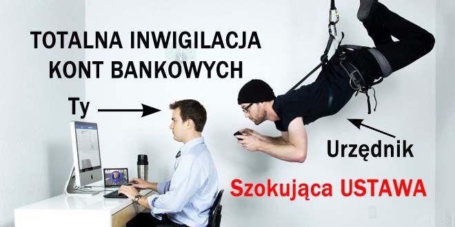 kontrola kont bankowych przez urzędników