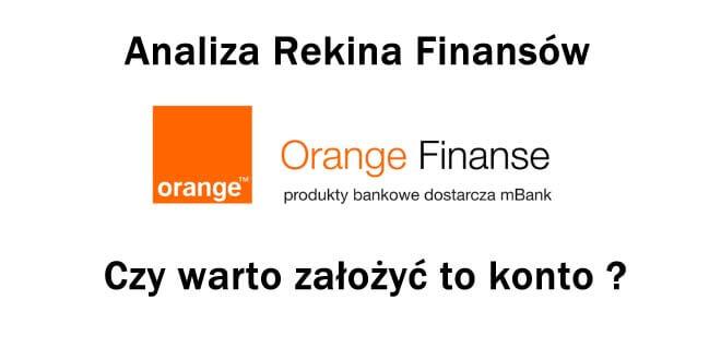 konto orange finanse