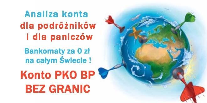 Konto PKO BP bez granic