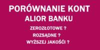 ranking kont osobistych Alior Bank