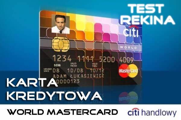 Karta kredytowa Citi Bank World MasterCard