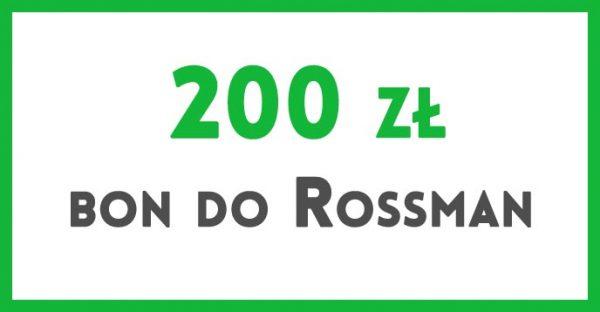 bon 200 zł do Rossman
