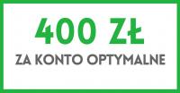 400 zł za konto Optymalne w BGŻ BNP Paribas
