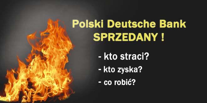 sprzedaż polski deutsche bank