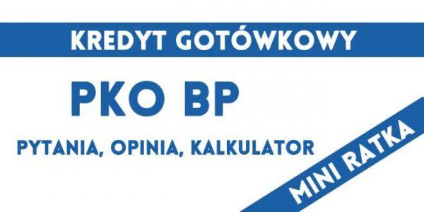 mini ratka PKO BP pozyczka gotówkowa