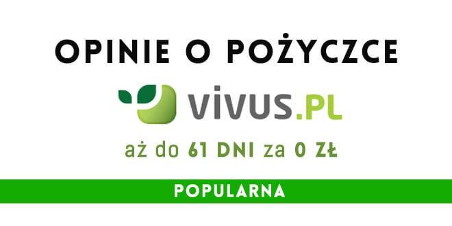 Vivus pożyczki recenzje
