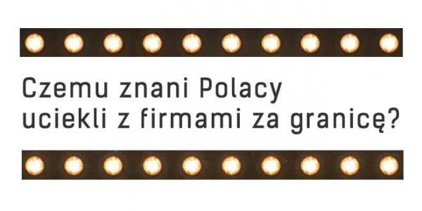 Polacy firma zagranicą