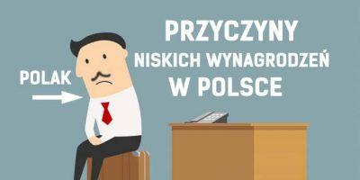 wynagrodzenia niskie polska