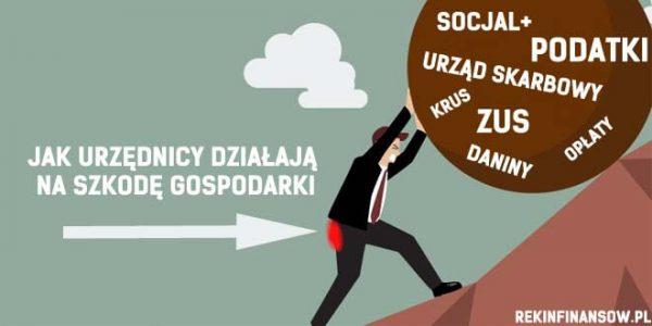 urzędnicy szkody gospodarki