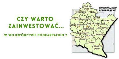 inwestowanie województwo podkarpackie