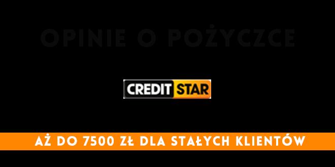 opinie o pożyczkach Creditstar