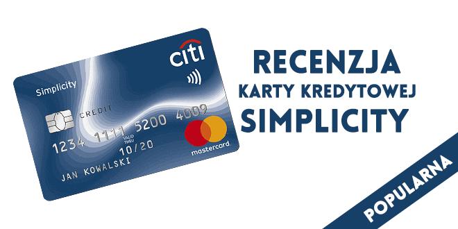karta kredytowa simplicity citi handlowy