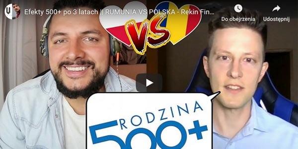 Rekin Finansów o 500 plus i Rumunii