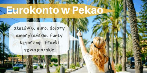 Eurokonto walutowe Pekao