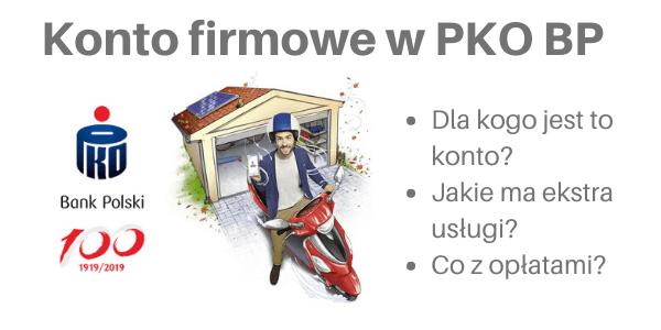 Konto firmowe PKO BP