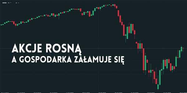 paradoks wzrostu cen akcji podczas kryzysu