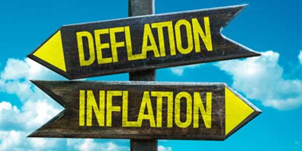 Skutki dodruku przez banki centralne inflacja deflacja