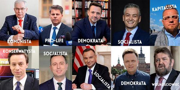 Kandydaci na prezydenta RP 2020