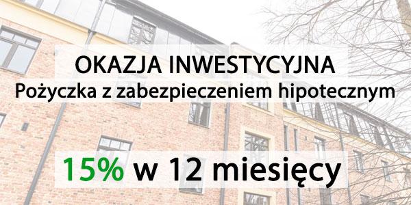 zellu inwestycja w pozyczke zabepzieczona na nieruchmosci